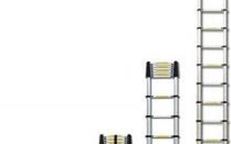 Teleskopický žebřík G21 GA-TZ13 - 3,8m hliníkový