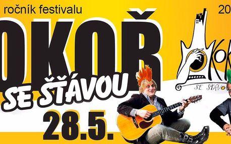 Lupen na hudební festival Okoř se šťávou 2016