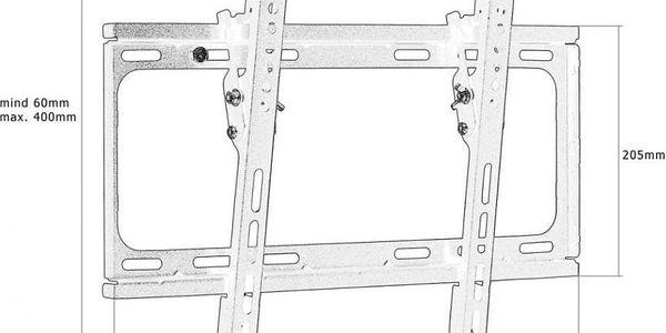 """Mounty 30281 Nástěnný držák pro LCD TV do 65""""4"""