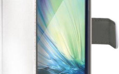 Pouzdro na mobil flipové Celly pro Galaxy A3 (WALLY452WH) bílé