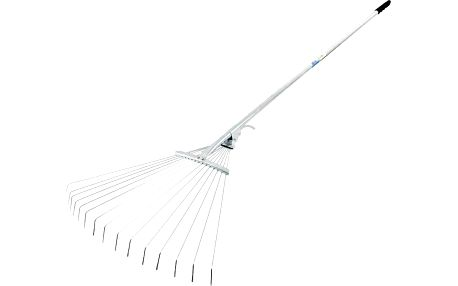 Extol Craft (99400) hrábě nastavitelné s násadou-drátové, max. šířka 59cm, pozinkované, s kovovým zámkem