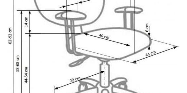 Dětská otočná židle MEDVÍDEK2