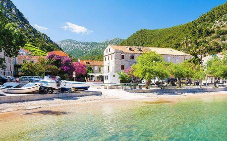 Relax ve vile u moře v Chorvatsku vč. polopenze