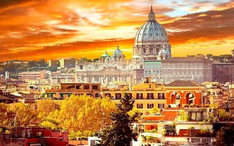 TOP místa v Itálii - Řím, Vatikán, sopka Vesuv, Pompeje i prosluněná Neapol a ubytování v 4* hotelu