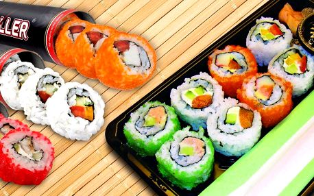 Rozvoz čerstvého sushi v revolučním balení