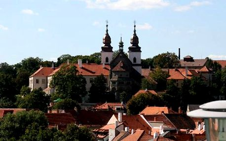 Romantický wellnes pobyt na 3 dny v Třebíči