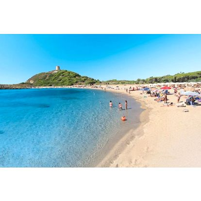 Itálie - Sardinie / Sardegna na 8 až 15 dní, ultra all inclusive s dopravou letecky z Bratislavy 350 m od pláže