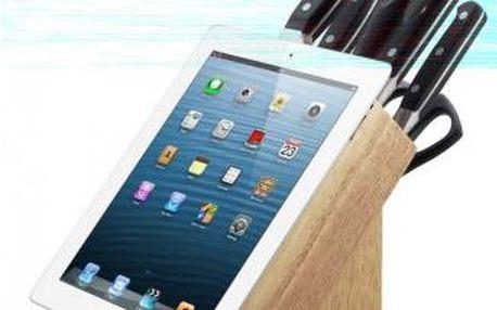 Sada nožů v bloku 8 ks PREMIUM, držák na tablet CS SOLINGEN CS-044282