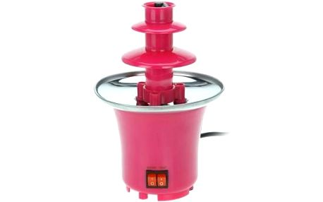 Čokoládová fontána, 15x22 cm, růžová EXCELLENT KO-170303510ruzo