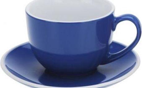Hrnek na cappuccino 220 ml, modrý EXCELLENT KO-Q75100430modr