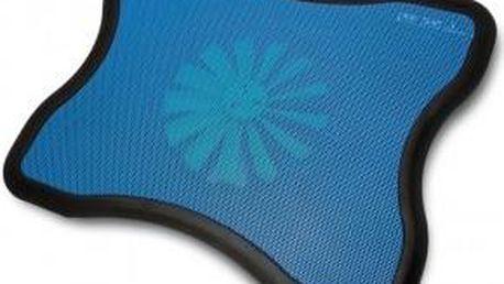 OMEGA chladící podložka 1 ventilátor, modrá - OMNCP8078BL