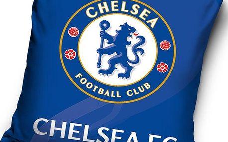Tip Trade Polštářek Chelsea FC Erb, 40 x 40 cm,