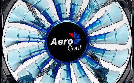 AeroCool Shark Fan, 140 mm, modrá - EN55468