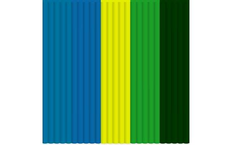 3Doodler Mix color PLA - Rainforest Raver