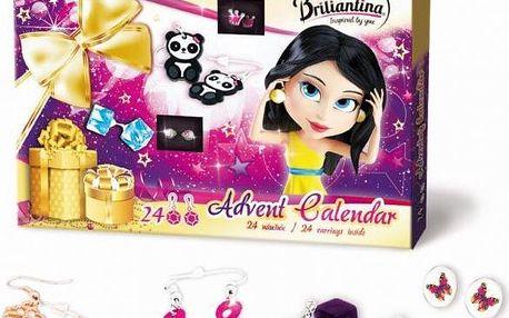 Bonaparte Adventní kalendář Briliantina 2015 Náušnice