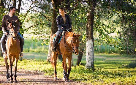 Víkend pro dva s jízdou na koni v Selském dvoře