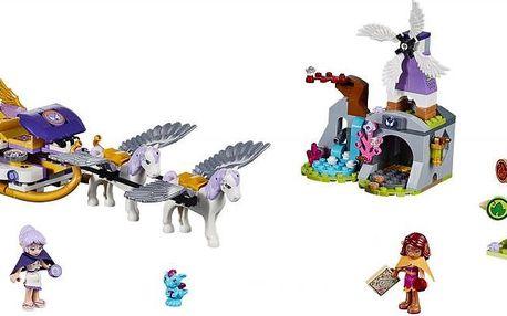 LEGO® Elves 41077 Aira a saně tažené Pegasy