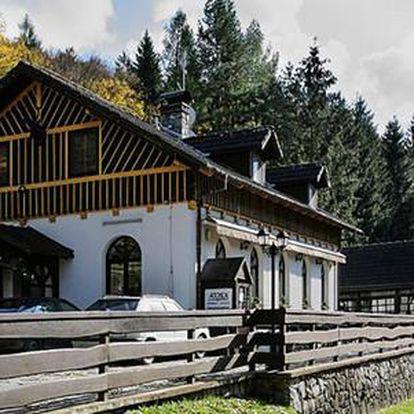 Ranč u Jelena v country stylu pro dva nedaleko Moravského krasu