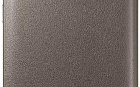 Samsung flip pouzdro pro Samsung Galaxy S6 Edge, zlatá (ekokůže)