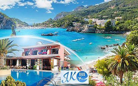 Řecko, Korfu: 12 dní pro 1 osobu + letecká doprava a snídaně, rodinný hotel s bazénem - TOP SEZÓNA!