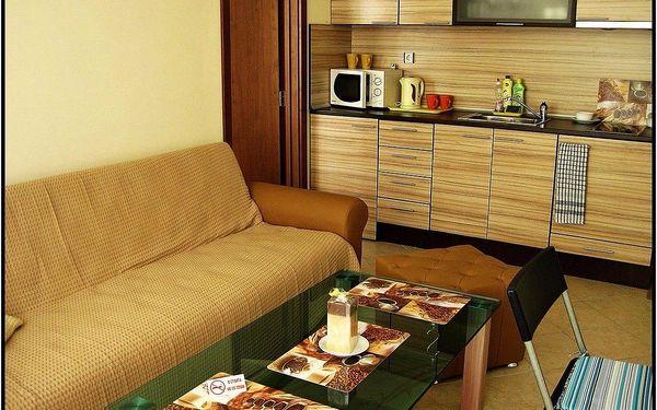 8 dní v komfortním apartmánu včetně bazénu v Bulharsku až pro 4 osoby4