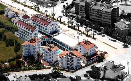 Turecko - Side na 7 až 9 dní, all inclusive s dopravou vídeň 450 m od pláže