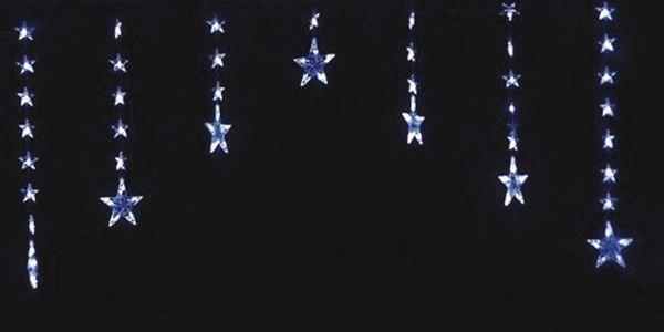 LED závěs hvězdy, Solight