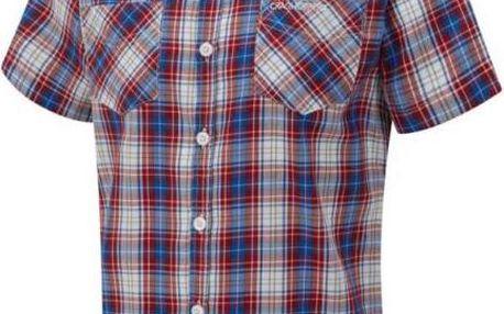 Pánská košile Craghoppers CMS441 Nico S/Slv Red Combo