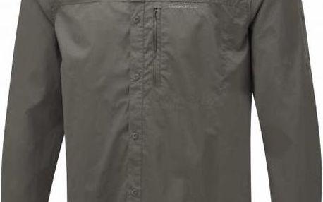 Pánská košile Craghoppers CMS500 Kiwi Pro LS khaki