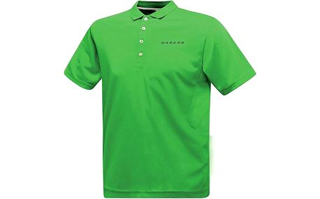 Pánské funkční POLO triko Dare2B DMT138 Plenary Polo Fairway Green