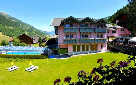 Neomezený wellness pobyt v Alpách. 4* hotel s polopenzí v ceně