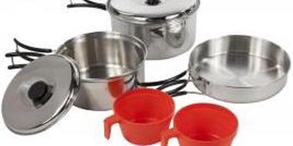 Sada hrnec / pánev Regatta RCE081 COMPACT Cook Set Silver