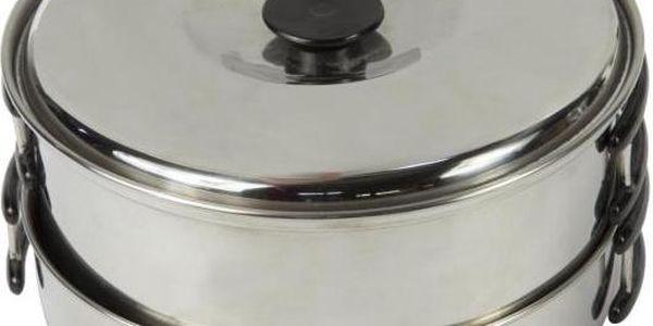 Sada hrnec / pánev Regatta RCE081 COMPACT Cook Set Silver 6XE2