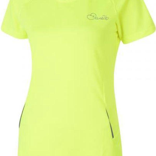 Dámské tričko Dare2B DWT153 IMPEL T Fluro Yellow