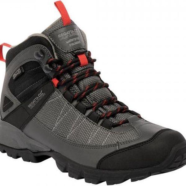Pánská vysoká obuv Regatta RMF374 TRACKFORD Ironsena 413