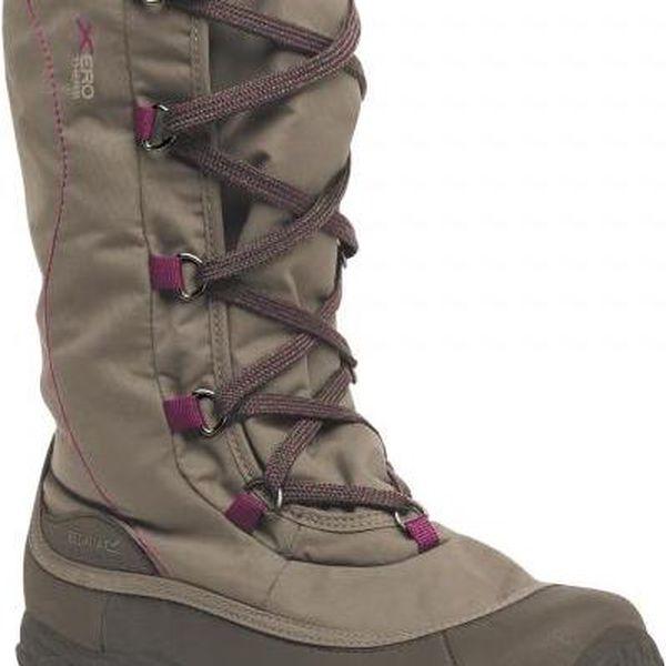 Dámská zimní obuv Regatta RWF389 Lady Snowpak II Sand/Purple