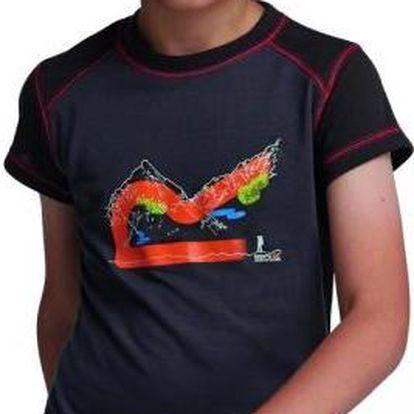 Dětské - juniorské triko Regatta RKT055 THORPE Seal Grey