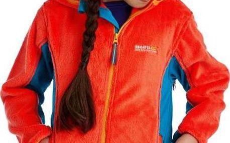 Dětská fleece mikina Regatta RKA150 CUDDLY Crayou/Enaml