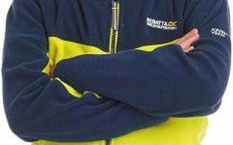 Dětská fleece mikina Regatta RKA139 MARTY NeonSp/BlWng