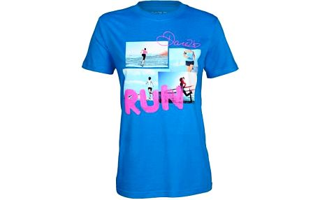 Dámské tričko Dare2B POL699 RUN LADY - T Atoll Blue