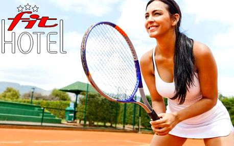 Letní tenisová akademie s ubytováním v Hotelu FIT***