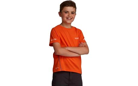 Dětské juniorské triko Regatta RKT054 GANTU Magma Orange