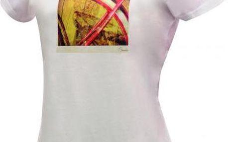 Dámské tričko Dare2B DWT139 TAKE TWO White