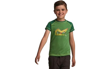 Dětské - juniorské triko Regatta RKT055 THORPE Extrme Green