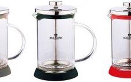 Konvička na čaj a kávu French Press 350 ml, 3 barvy BLAUMANN BL-1441, Černá
