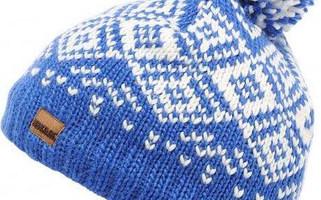 Dámská pletená čepice Regatta RWC057 NORDIC HAT DazzlingBlue