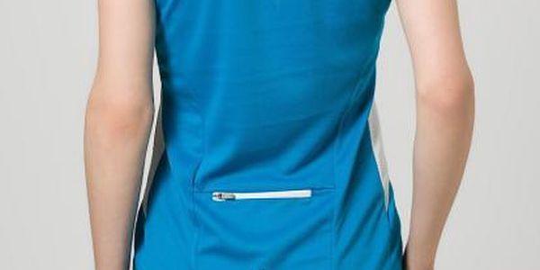 Dámské sportovní tričko Dare2B DWT095 REGAIN JERSEY Methyl Blue 362