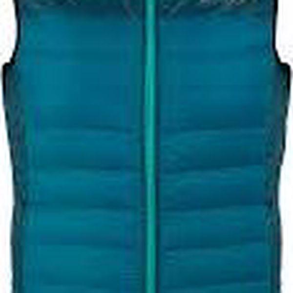 Dámská péřová vesta Regatta RWB057 HIGHFEEL B/W Moraccan Blu 402