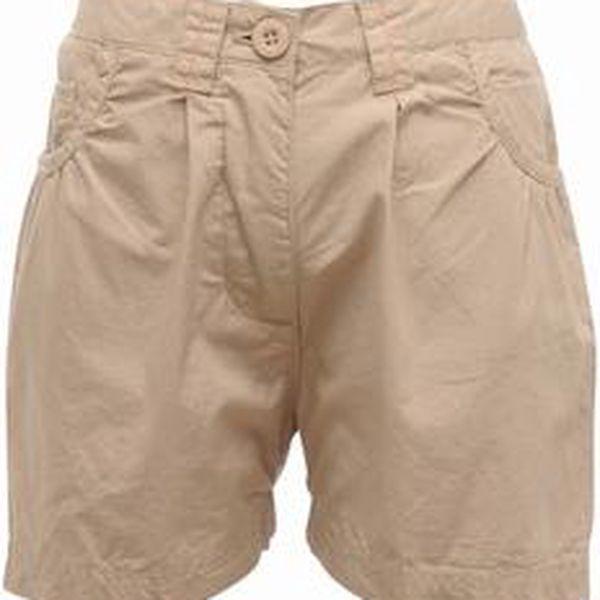 Dětské - juniorské dívčí šortky Regatta RKJ049 DOLIE Short Parchment