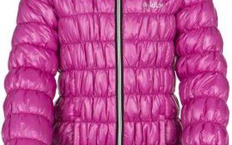 Dívčí zimní sportovní kabátek KILPI BRIELLE-JG Růžová